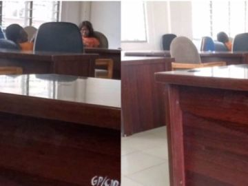 Exclusive: First photos of Mzbel sleeping in the Police custody surfaces online 1