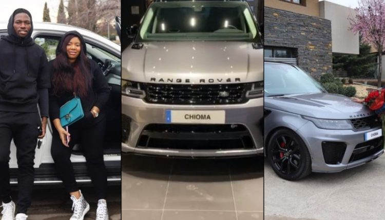 Young man surprises his wife with a 2021 range Rover Velar on her birthday (video) 2