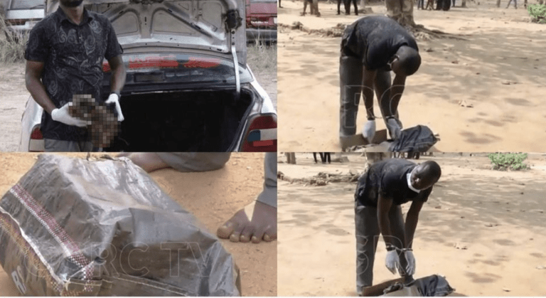Man Arrested By The Police While On His Way To Deliver Human Heads To His Boss 2
