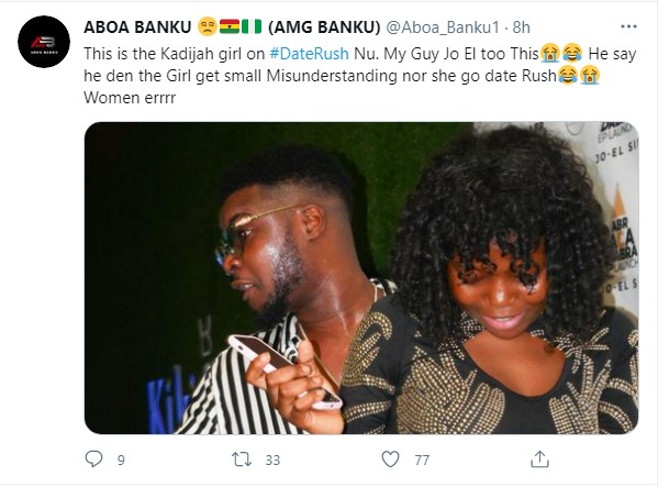 Khadija Of TV3'S Date Rush Exposed For Having A Boyfriend As Their Pictures  Land On The Internet » Dklassgh.com