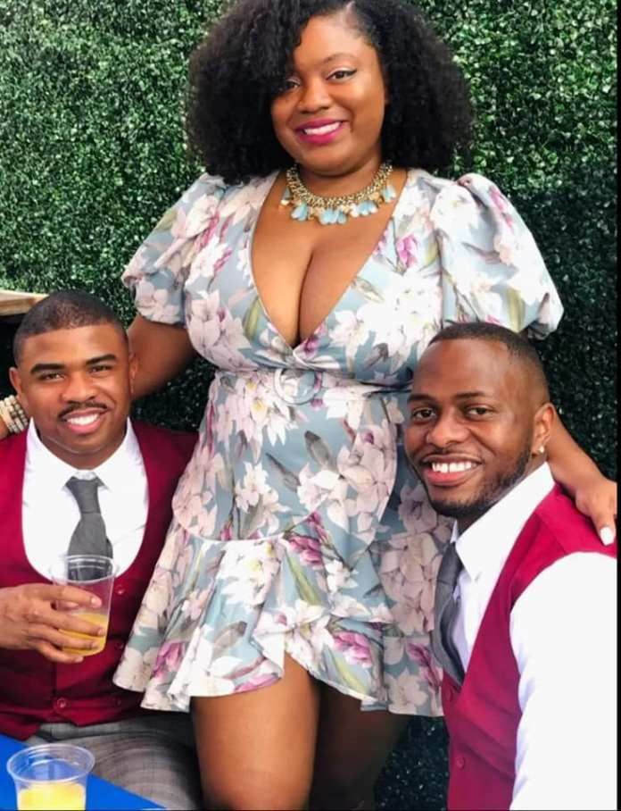 South African Woman Flaunts Her Two Husbands (Photos) 3