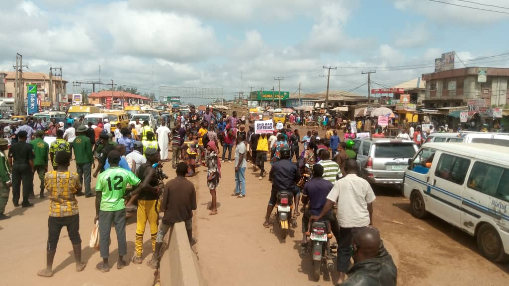 Protest takes another dimension in Ogun State