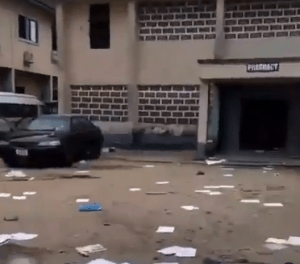 Mad People escape from psychiatric hospital in Calabar