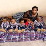 Adorable quintuplets photos of Keke driver's wife