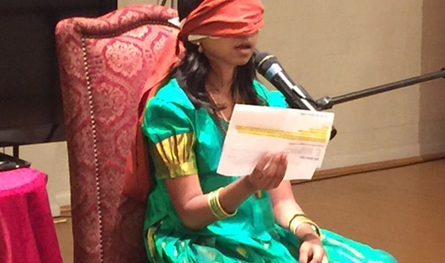 This Astonishing Girl Can Read Blindfolded After Activating Her Third Eye
