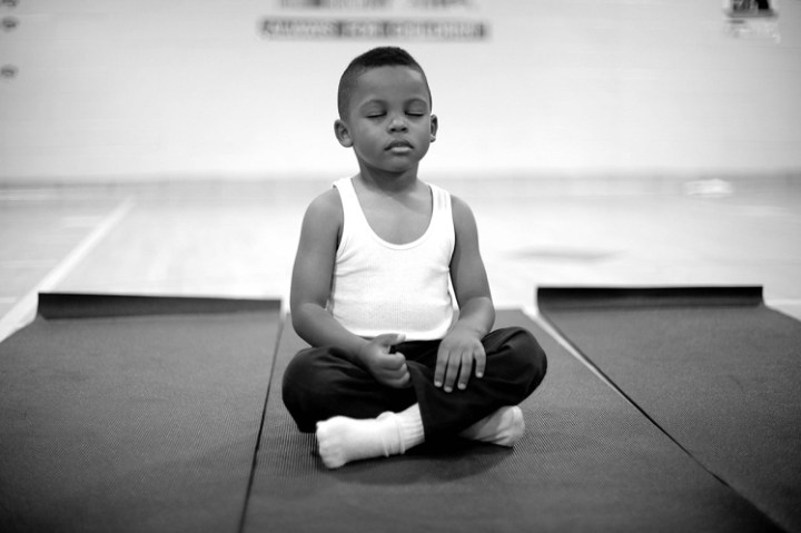 This school replaced detention with meditation and the results are incredible