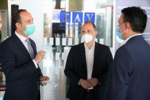 Од среда аеродромите во Скопје и Охрид продолжуваат со редовна работа