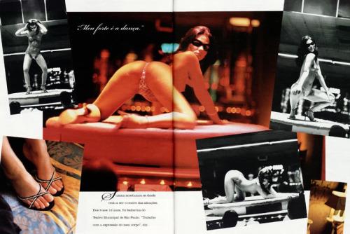 Foto da Tiazinha pelada na Revista Playboy - Site Gostosas e Peladas