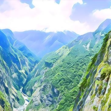 花蓮太魯閣,錐麓古道探險與申請方式