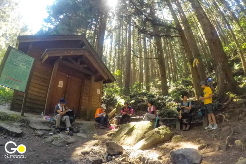 加里山的避難山屋