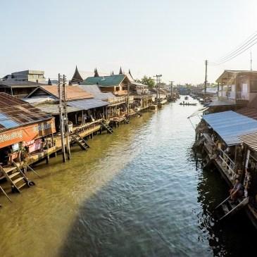 前進泰國水上市場與美功鐵道市集