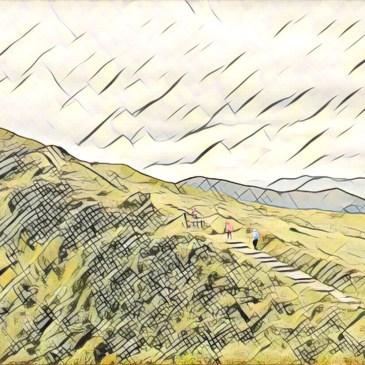 桃源谷步道,比擎天崗大草原還厲害的景色!