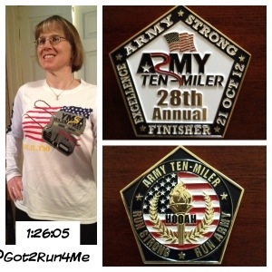 Army Ten Miler Collage
