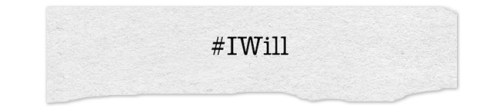 #IWill