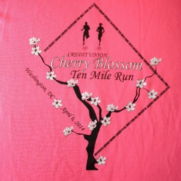 Credit Union Cherry Blossom 10 Mile Run 2014 Tech Tee