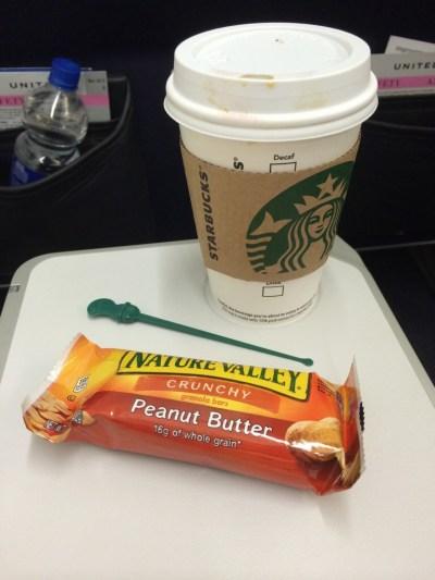 Starbucks + Granola Bar