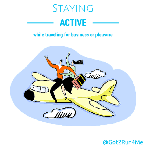 Staying Active While Travelling