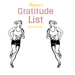 Runner's Gratitude List