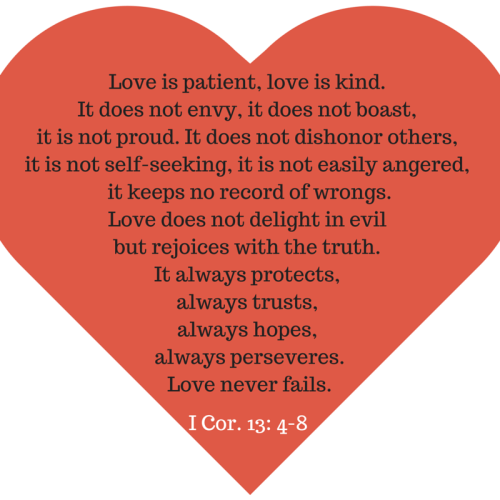About what love says god What Does