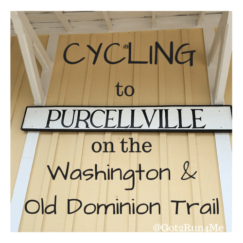 Cycling To Purcellville