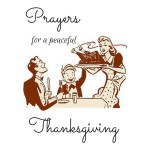 Prayers For A Peaceful Thanksgiving