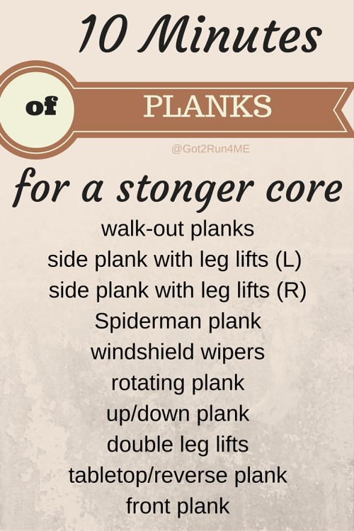 Exercises For A Stronger Core