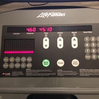 Hotel Gym Treadmill