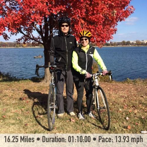 November Cycling
