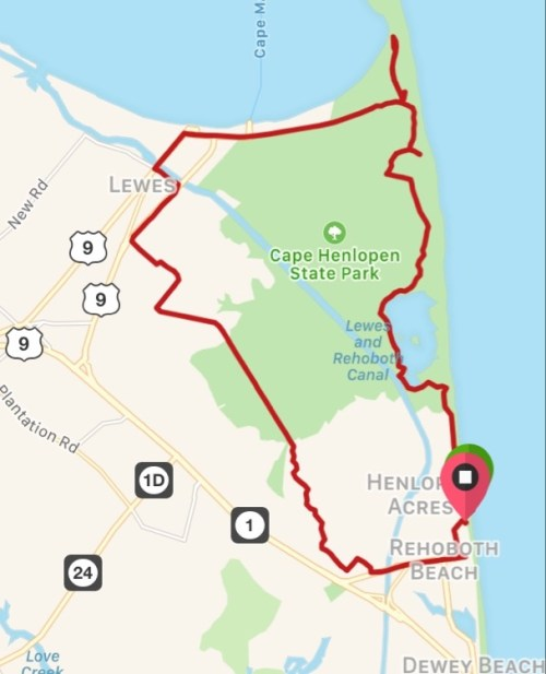 Rehoboth Beach Biking