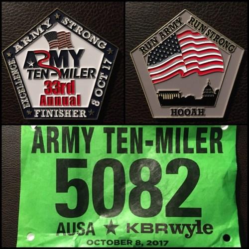 2017 Army Ten Miler Recap