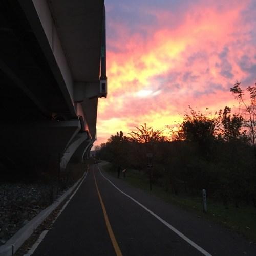 Wilson Bridge Half Sunrise