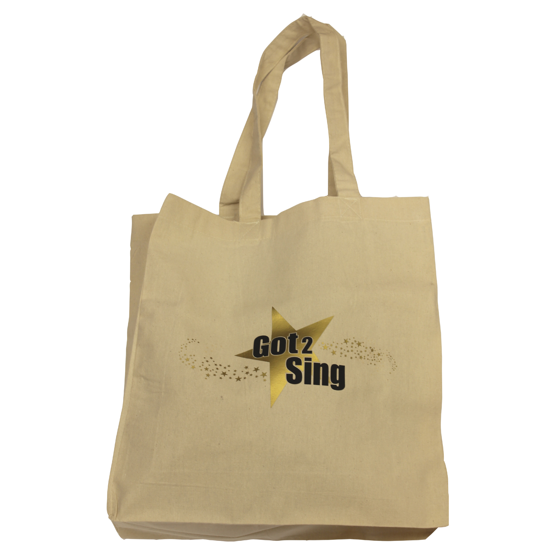 Got2Sing Natural Canvas Bag