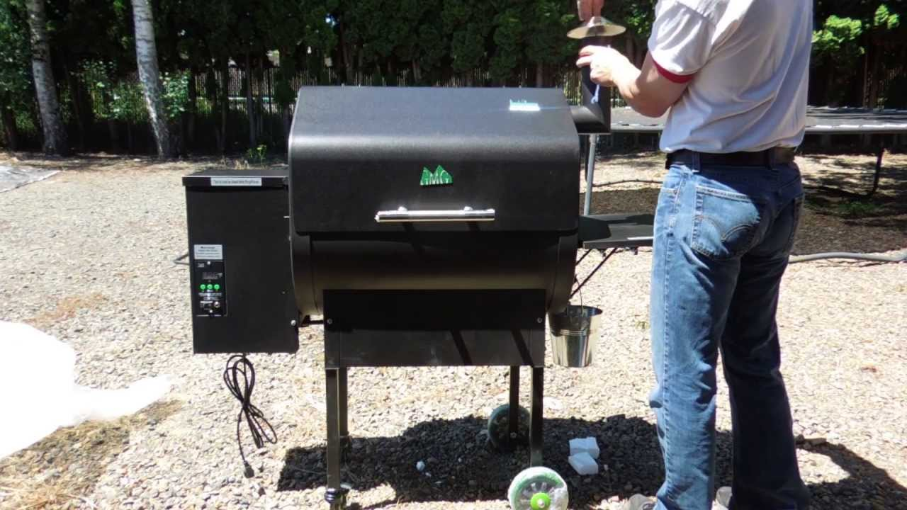 black barbecue grill outdoor assembled by Got a Hand