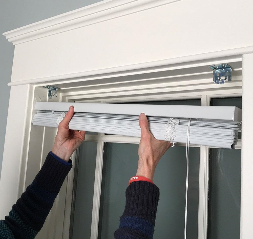 window blinds installation by Got a Hand