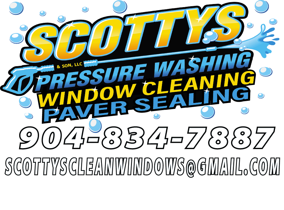 Scottys Pressure Washing, Window Cleaning and Paver Sealing