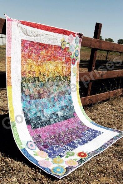 Hippie Rainbow Flowers 1
