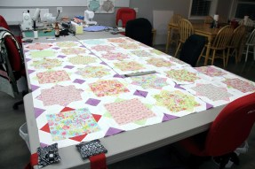 Conny's beautiful and happy quilt
