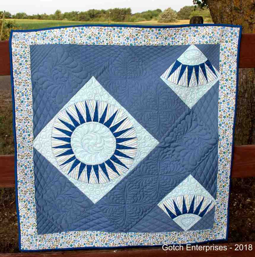 Blue Beauty Quilt