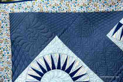 Blue Beauty Quilting