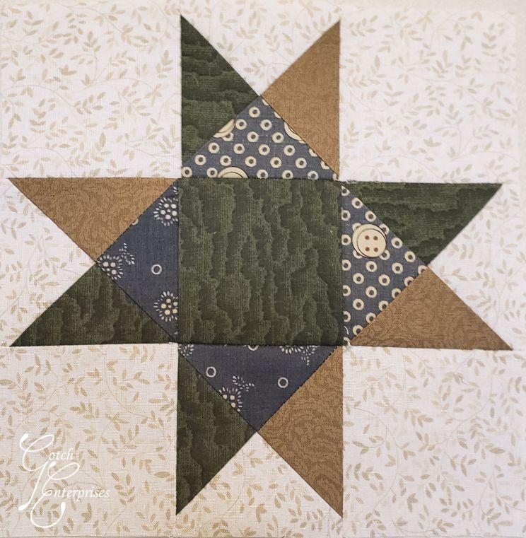 MCQG Mystery Quilt Block1