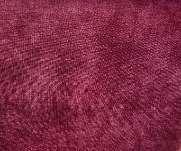 Burgundy tartan