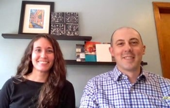 Meet Julianna and Josh, owners of Gotcha Covered of North Hills.