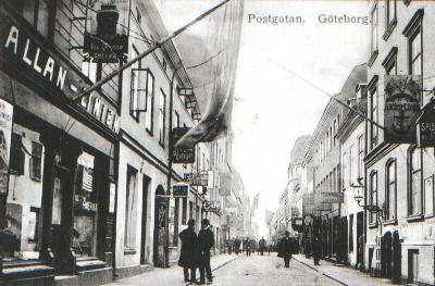 Sillgatan (nuv. Postgatan)