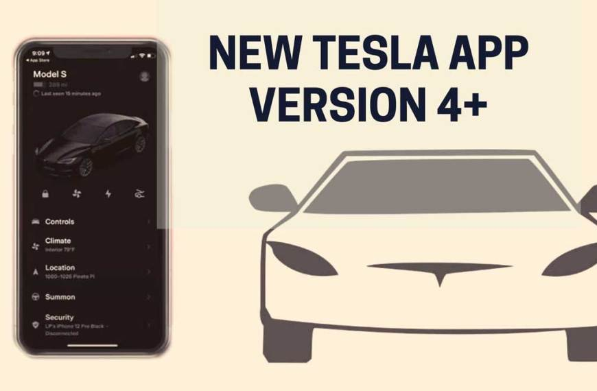 Critical Insights about Tesla App Version [New Tesla App Version 4.0]