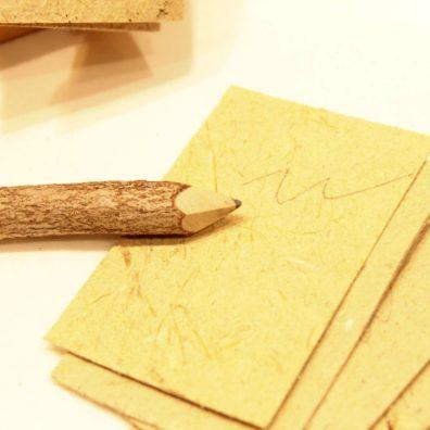 กระดาษจากเยื่อกล้วย