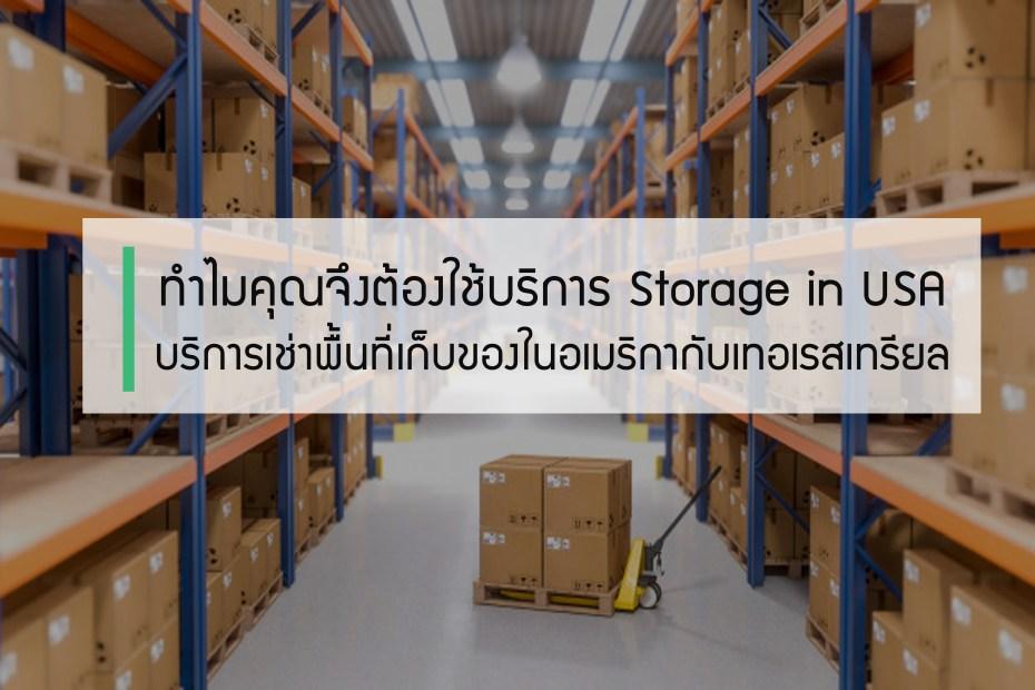 ทำไมคุณจึงต้องใช้บริการ Storage in USA บริการเช่าพื้นที่เก็บของในอเมริกากับเทอเรสเทรียล