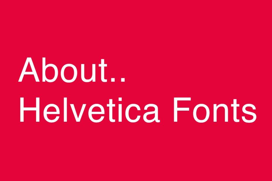 Helvetica ความเป็นกลางแห่งตัวอักษร