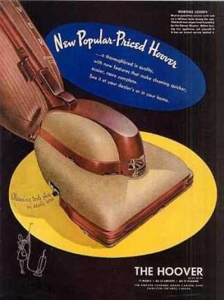 Hoover Vacuum Cleaner (1946)