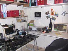 L Shaped Computer Desk photo