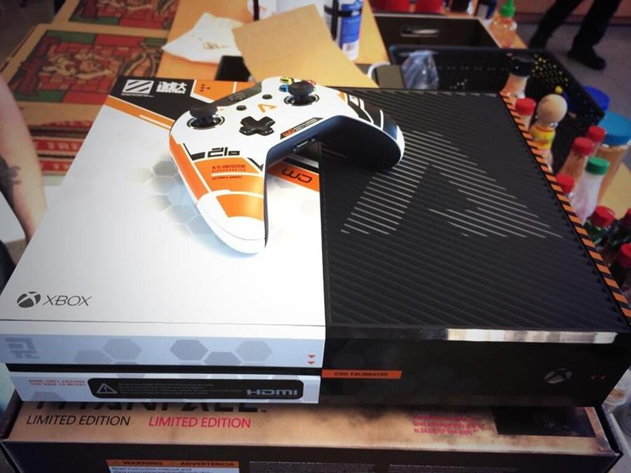 Titanfall Xbox One Consoles Given Only To Respawn Staff